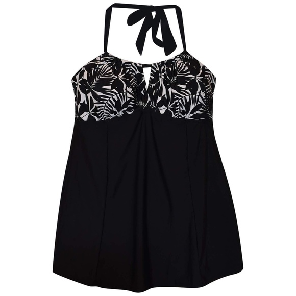 Simply Fit Other - NWT Simply Fit Plus Size SwimDress Swimsuit 16-24